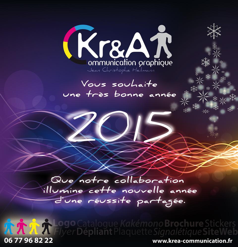 Krea communication Voeux 2015